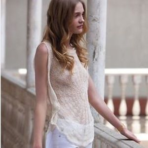 Beautiful crochet top from Anthropologie!